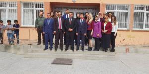 Mart Ayı Eğitim Toplantısı İlçemiz Gediksaray Köyü İlk/Orta Okulunda Gerçekleşti