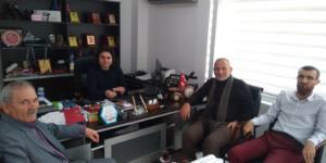Göynücek YEG Derneği yönetiminden medya kuruluşumuza ziyaret.