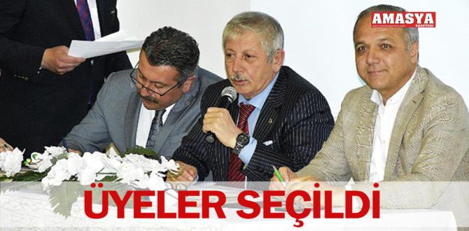 ÜYELER SEÇİLDİ