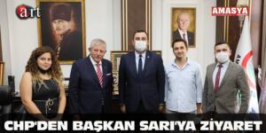 CHP'DEN BAŞKAN SARI'YA ZİYARET
