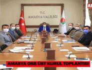 Amasya OSB Üst Kurul Toplantısı