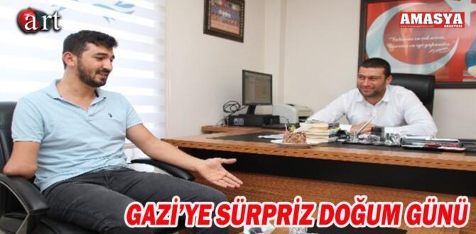 Gaziye sürpriz doğum günü